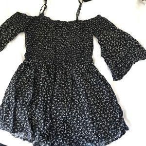 Dresses & Skirts - Floral off the shoulder romper